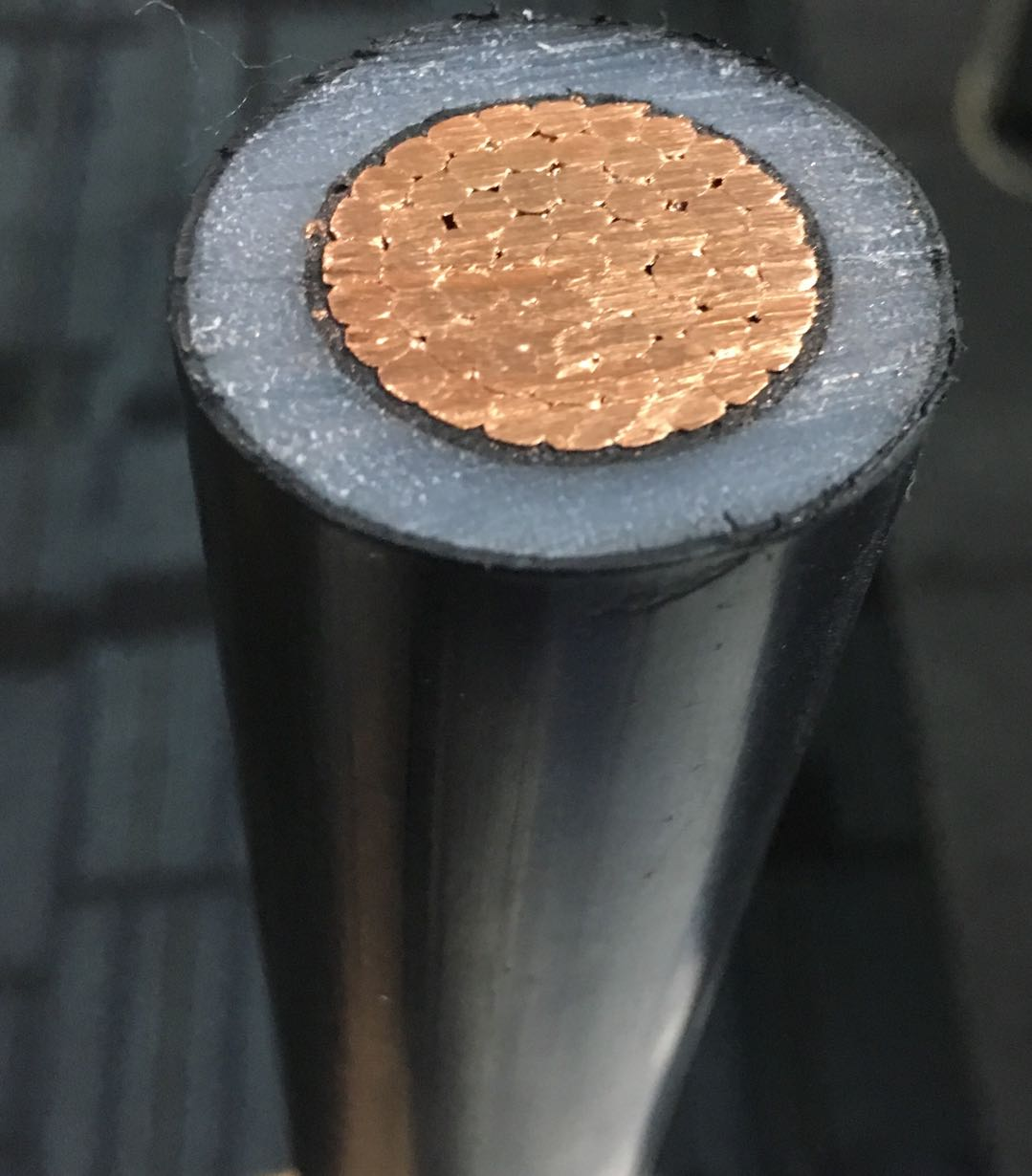 Shanghai SWAN Single Core Copper XLPE  Armoured  medium Voltage Cable