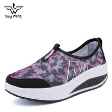 New Design Breathable Comfortable Shake Shoes Ladies Casual Shoes Sneakers