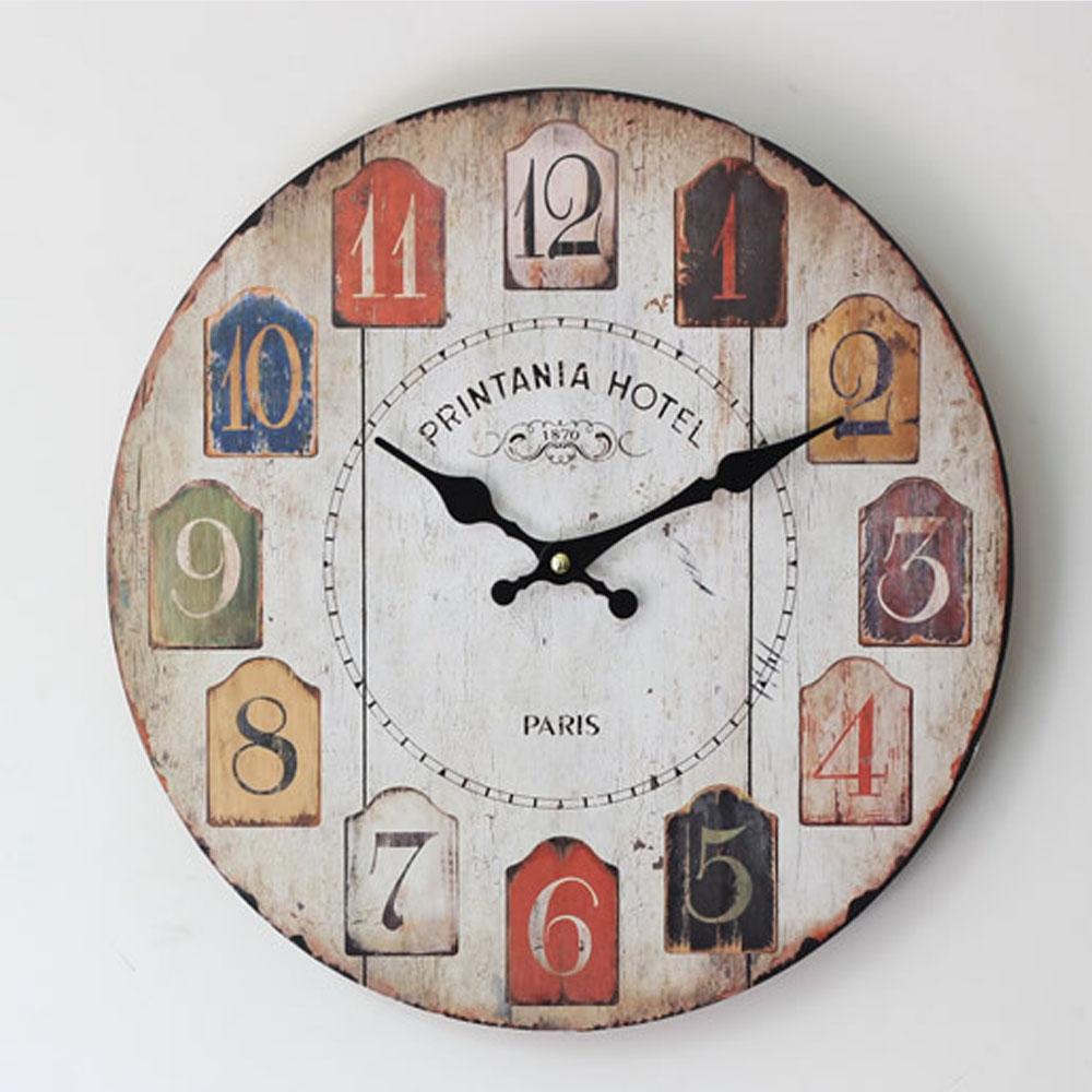 Color árabe electrónico digital Reloj de pared sin marco-Relojes de ...