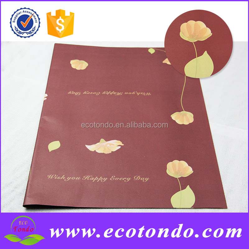 yiwu leading paper factory gift wrap suppliers with OEM available