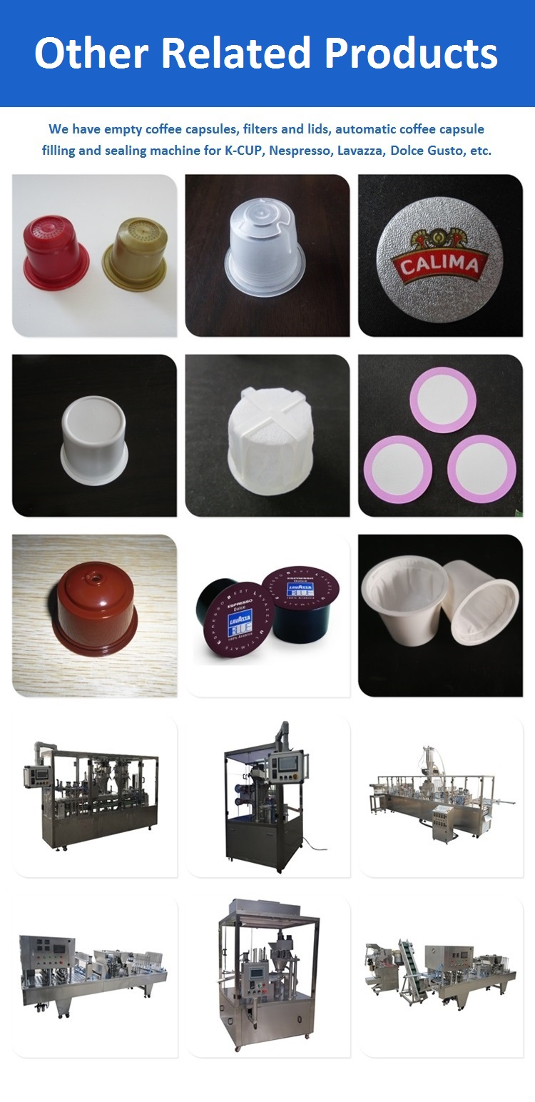 K cup coffee capsule filling machine/coffee capsule filling sealing machine
