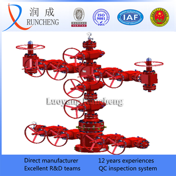Oilfield Api 6a Wellhead Device High Pressure Xmas Tree Oil Drilling