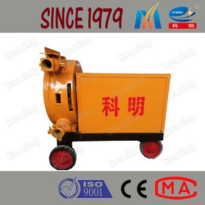 Construction Electric River Sand Mortar Hose Squeeze Pumping Machine