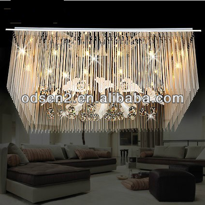home decorative glass out line ceiling lamp