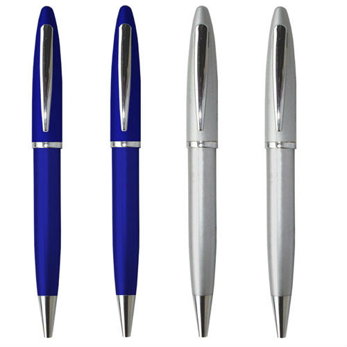 Promotional Metal Ball Pen With Logo Customized Advertising Ballpoint Pen Engraving Personalized Gift Metal Ball Pen