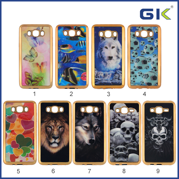 [GGIT] New Colorful Drawing Electroplating TPU Mobile Phone Case For Samsung Galaxy Grand Prime G530 Back Cover