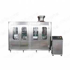 small alcoholic beverage filling and capping machine / bottling plant