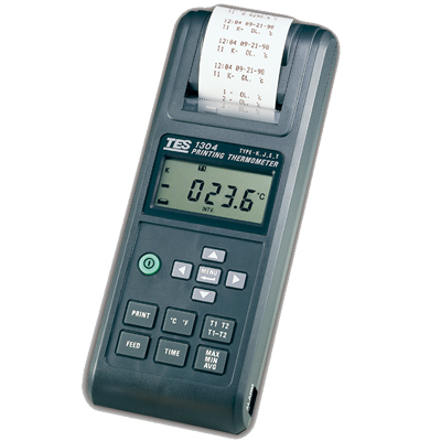 (Printing Thermometer) TES Model: TES-1304