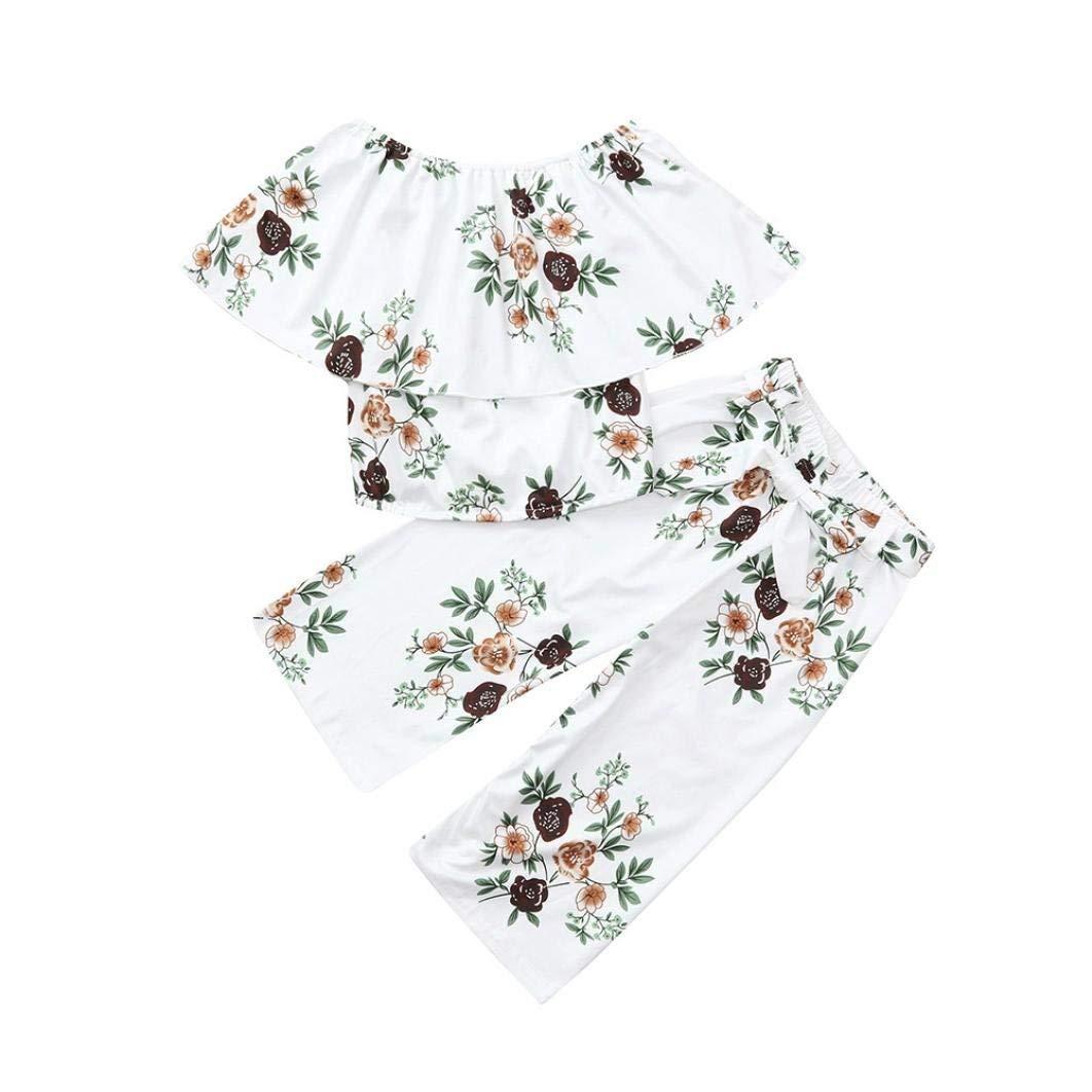 Summer Toddler Kids Baby Boys Girls Short Sleeve Tee T-Shirt for 0-4 T TM Jchen Boys Cartoon Print Tops,