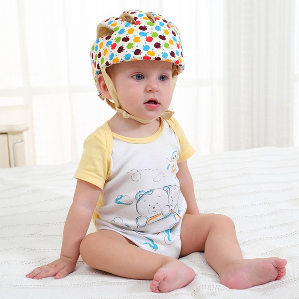 para bebê da menina de algodão capacetes
