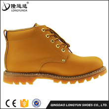 Smooth Action Leather Anti-slip Goodyear Safety Shoes