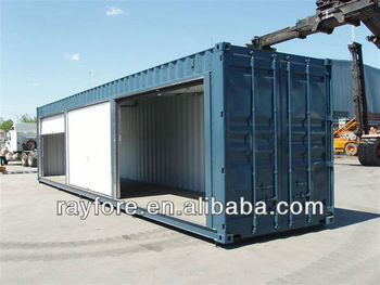 ISO side opening shipping container with rolling-up doors & ISO side opening shipping container with rolling-up doors View ...