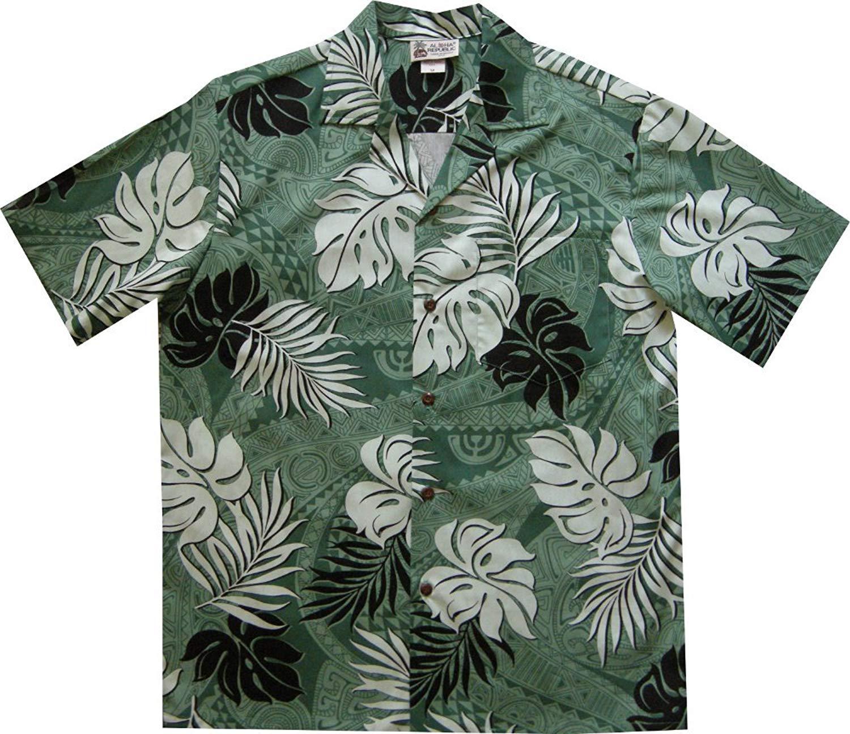 6933d64a0 Aloha Republic LIMITED Tapa Tattoo Hawaiian Shirt Made in Honolulu Hawaii  USA