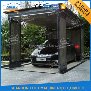 Outdoor Car Lift >> Outdoor Garden Double Platform Car Scoissor Lift Buy Car Lift