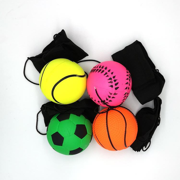 Best Gift Various Colours Natural Rubber Sponge Rubber Bouncy Ball