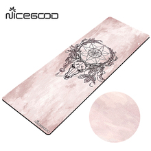 foldable yoga mat fabric suede microfiber cloth square travel yoga mat cheap with yoga mat strap