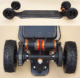 Bluetooth remote control electric skateboard
