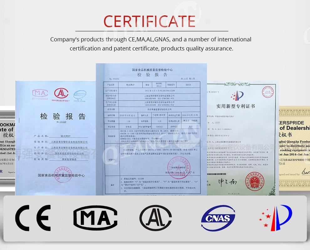 Shanghai Qiangan Foodservice Equipment Co., Ltd. - pizza oven ...
