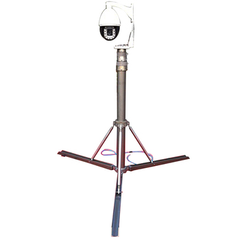 The Portable Tripod Telescopic Camera Mast With Supporting Poles - Buy  Telescoping Mast For Camera,Security Camera Pole Mast,Pneumatic Camera Mast