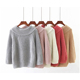 2018 Autumn winter female loose Knit sweater women pullover puff Sleeve sweaters