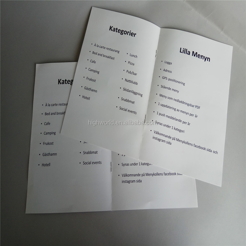 Professional leaflets/Folded handout/posters/flyer printing from Qingdao, China