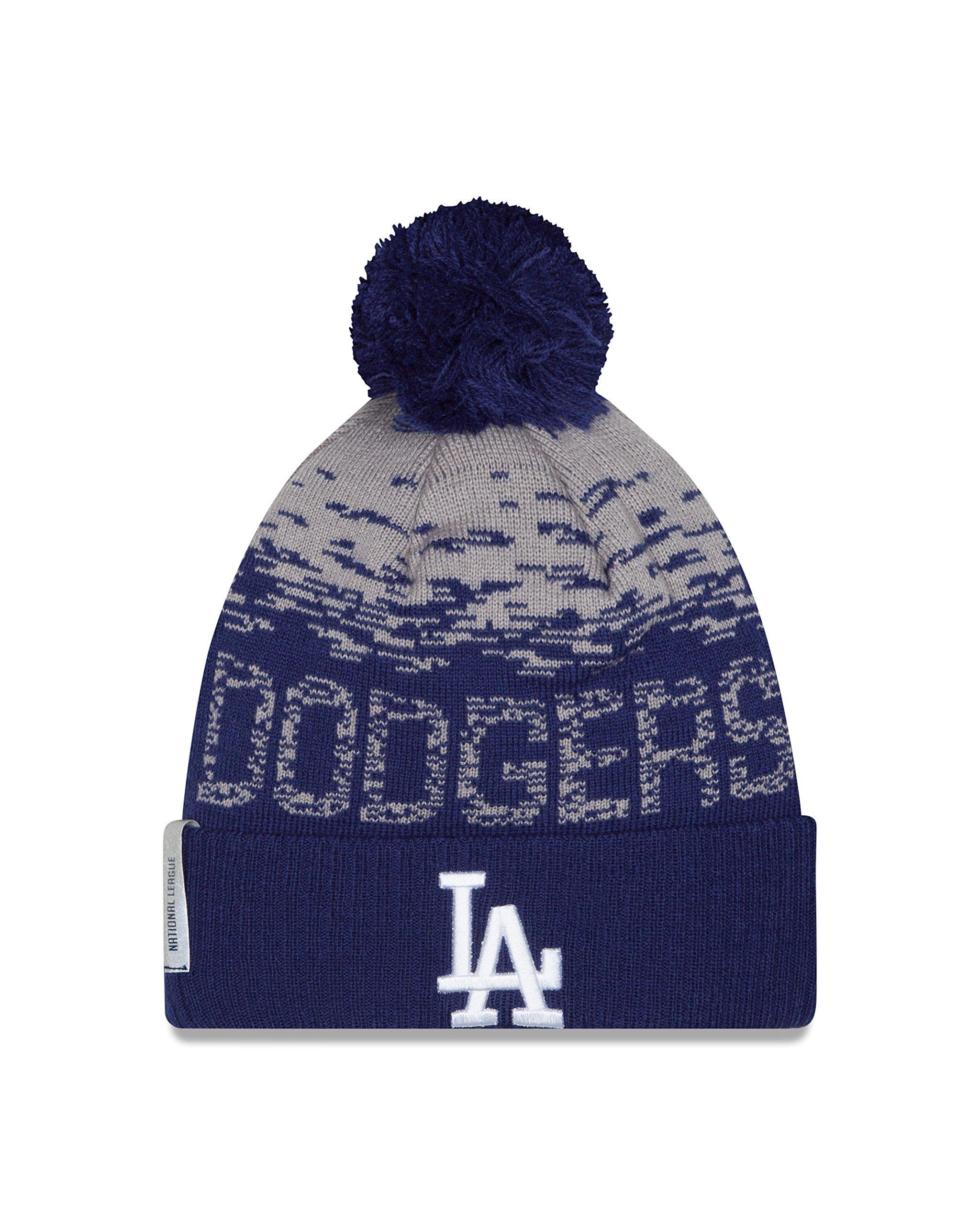 ... MLB 2016 On Field Sport Knit Beanie famous brand e5c97 ca07a  New Era  Knit Baltimore Ravens Purple On Field Sideline Winter Stocking Beanie Pom  Hat Cap ... d036961b6