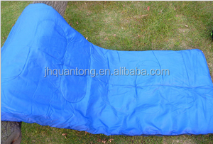 Camping outdoor sleeping bag feather silk wearable sleeping bag