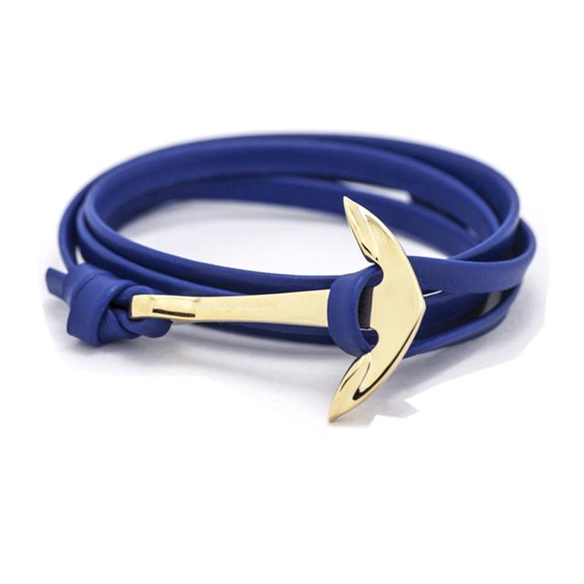 Wrap Around Bracelet Nautical Stainless Men Women Fashion Jewelry Hand Made USA