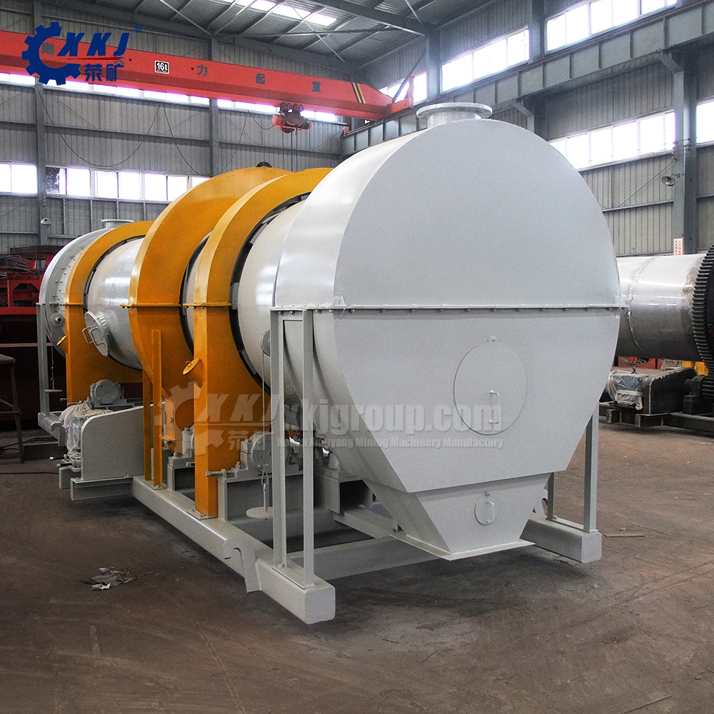 Big capacity electric silica sand coal rotary dryer with competitice price