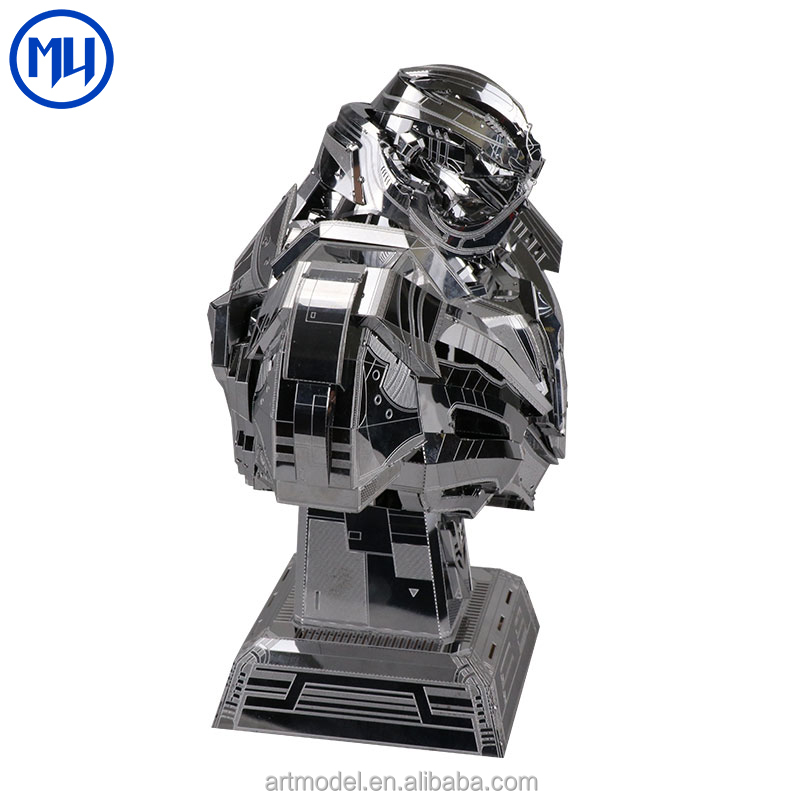 MU 3D diy Metal Model Hasbro Genuine License Transformer 5 Megatron Model Laser Cutting Metal Jigsaw Puzzle Toys for Adults