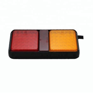 Rectangle LED car truck rear trailer tail indicator lamp light for Truck/Trailer/Tractor