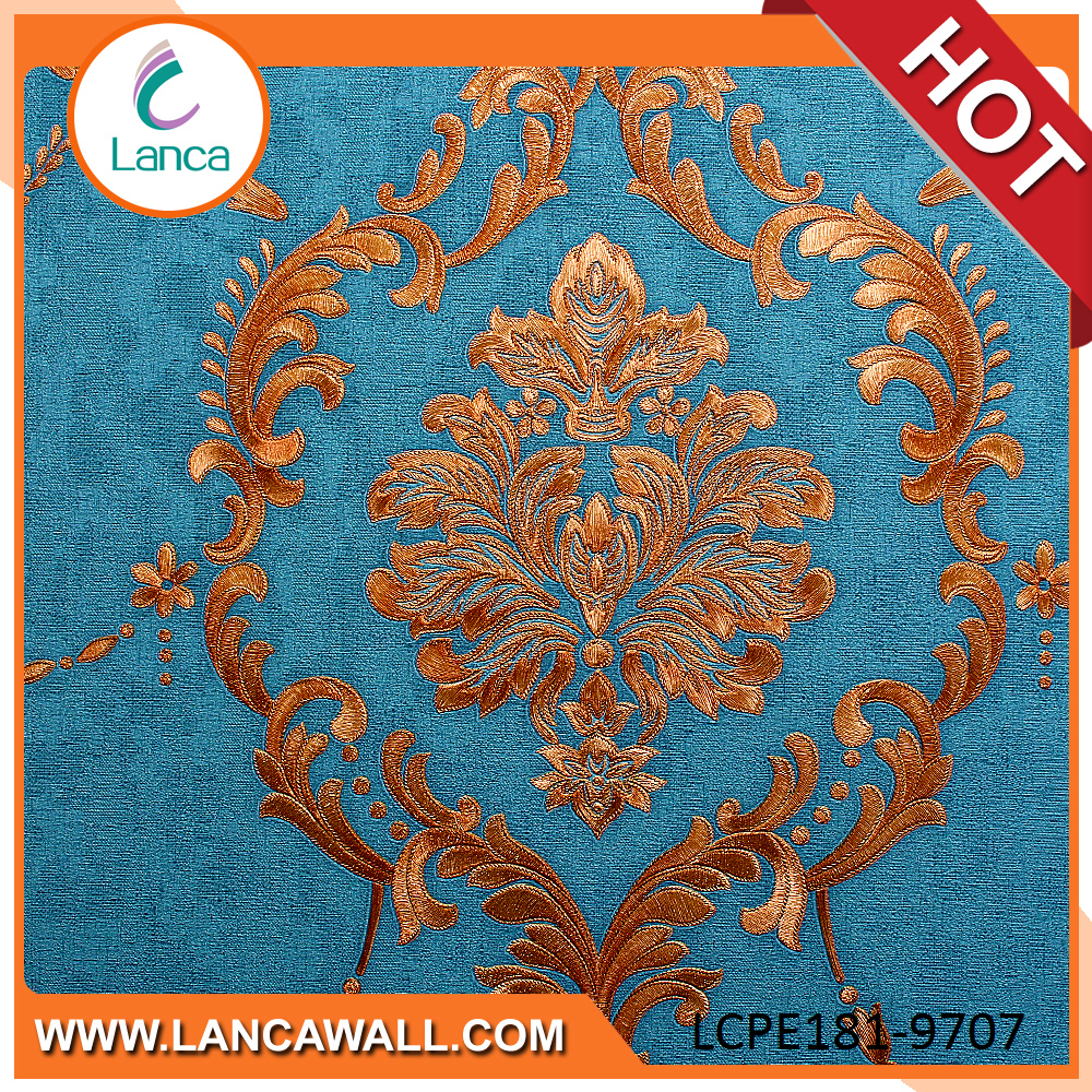 french big damask design wallpaper wall paper roll
