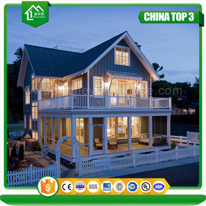 Steel Building Kits Prefabricated Houses Villa for Sale