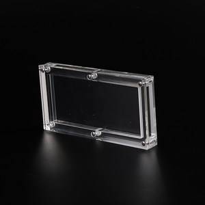 CANADA acrylic BEP pack 100 dollar wholesale banknote frame / plexiglass currency display holder wholesale