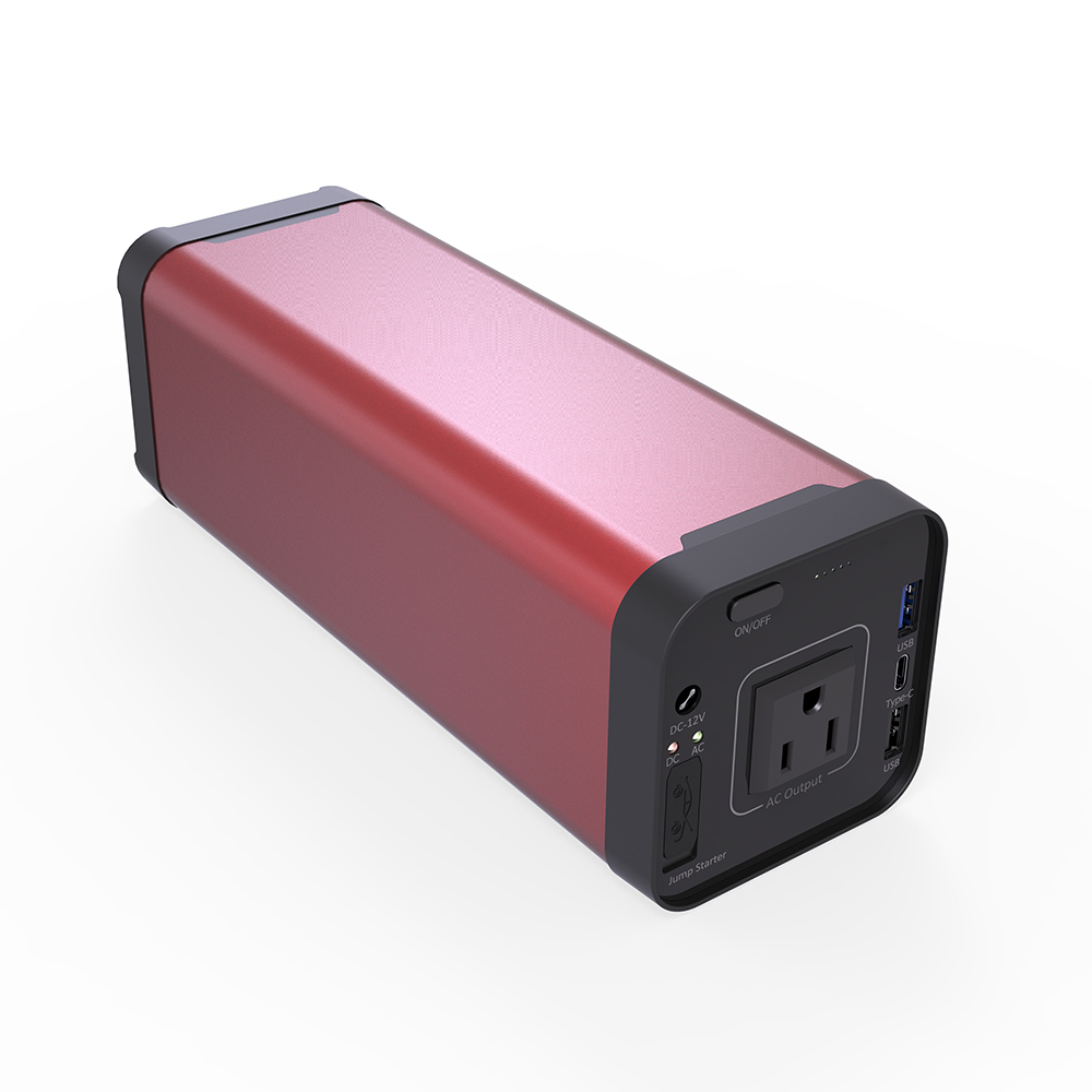 CE 110 V USA version AC output 40Ah Multi functional 야외 Power Bank 대 한 12 v QC 3.0 차 점프 스타터