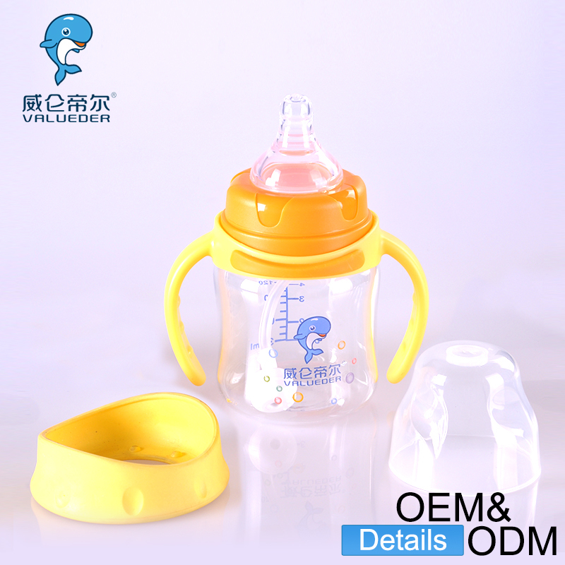 Wholesale Custom Baby Milk Bottles BPA Free Unique Thermos Glass Baby Bottle Manufacturing
