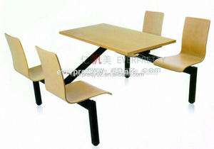 Modern food court chairs tables, indoor cafe tables and chairs, restaurant furniture set kids table and chair