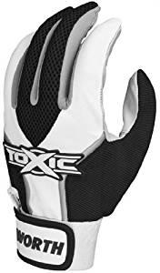 Worth Toxic Batting Gloves Youth - Black White