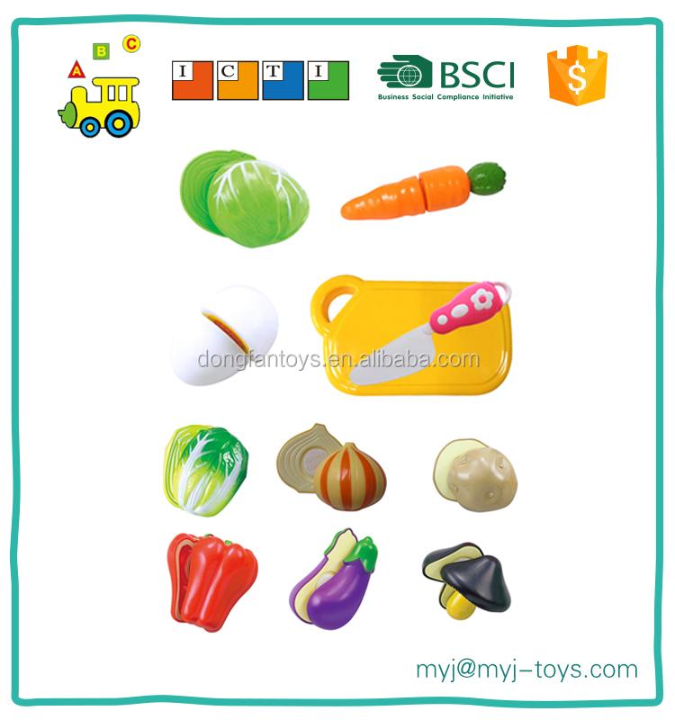 En plastique cuisine jouer ensemble de coupe bricolage jouet set ...