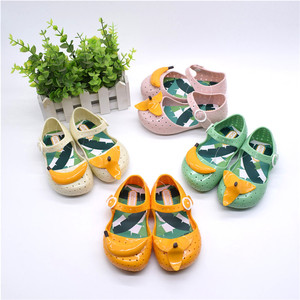 New Look Hot Selling Cute Red Kids Jelly Sandal Hot Selling Red Children Sandals Kids' Plastic Sandals