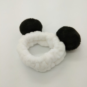 polar fleece ear warmer bear ears bandana headband