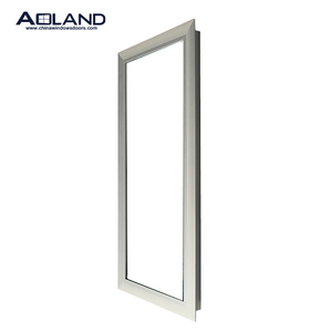 Thermal break aluminium soundproof long fixed glass window for hotel