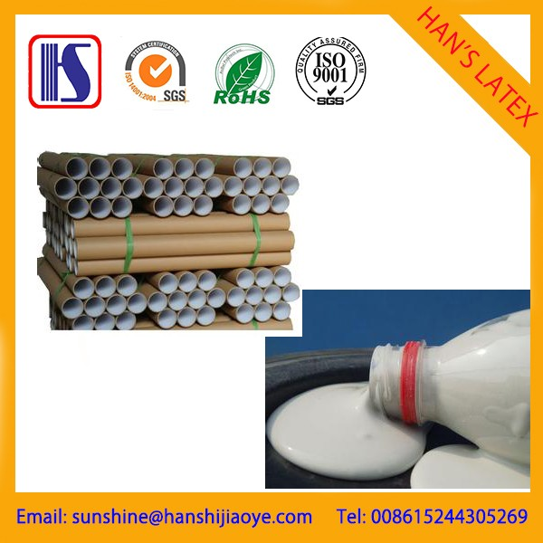 Water based adhesive for paper cones and tubes-013596