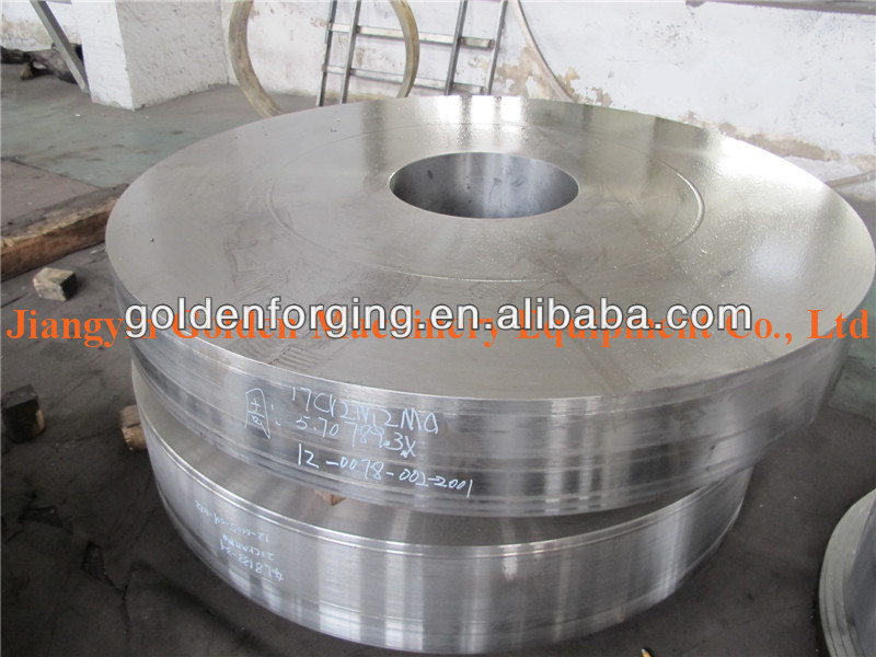 alloy steel ring fer forge