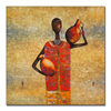 Abstract Oil Painting on Canvas African Art