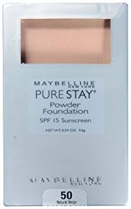 Pure Stay Powder Foundation by Maybelline #12