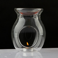 KTV wedding supplies Vycor glass aroma fragrance lamp scented oil burner