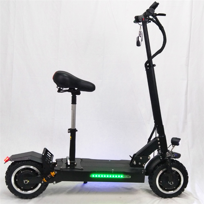 Alibaba.com / New arrival 3200W 11inch Off Road fat tire electric motorcycle scooter Electric Scooters with good damping system for Adults