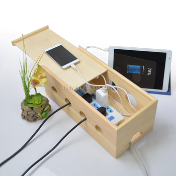 New Design Wooden Eletric Wire Cable Storage Box - Buy Cable Boxes ...