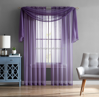 2018 modern wave designs ready made voile fabric window curtain fabric sheer curtain